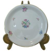 "Rosenthal Desserteller ""Form E"" Modell Loewy Blumen 15,8cm Durchmesser"