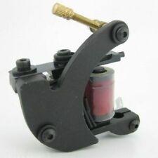 Pro Cast Iron Crescent Coil Tattoo Machine Gun 10 Wrap Coils For Liner Shader