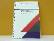 Tektronix 070-9197-00 PS2520G + PS2521G Power Supplies Programmer Manual