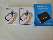 Used Paypal Here Chip And Card Swipe Reader Pcsusdcrt