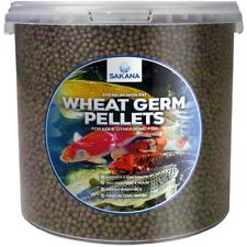 Sakana Premium Wheat Germ Koi Pellets Complete High-Fat Cold Water Fish Food