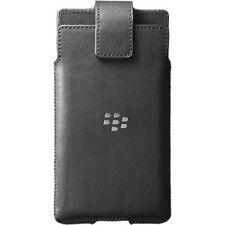BlackBerry Case for BlackBerry Priv Leather Swivel Holster Cover Black