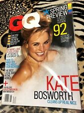 KATE BOSWORTH on the Cover of GQ MAGAZINE JAN. 2005 MINT FACTORY SEALED NO LABEL