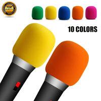 Handheld Microphone Sponge Foam Covers Windshield Mic Windscreen For Karaoke AU