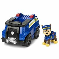 Paw Patrol Chase's Patrol Cruiser Vehicle with Collectible Figure Free Shipping