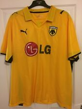 2008/2009 AEK Athens home football shirt Puma Greek Greece XXL men's