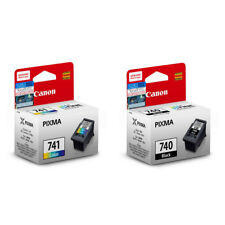 Canon PIXMA PG-740 Black,CL-741 Tri-Color Ink Cartridges (for MG4270) (2pcs)-MIX