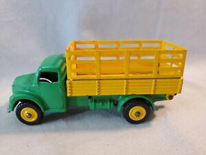 Vintage 1961-44 Dinky 30W or 343 Dodge Farm Produce Truck W Plastic Wheels NR