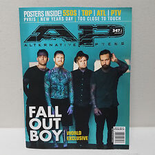 FALL OUT BOY Alternative Press AP June 2017 Magazine 347 Cover 2 pvris 5SOS