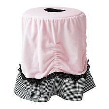 IKEA Stool Cover SKÄRT Pink Black Cozy Fits Marius & most Stools