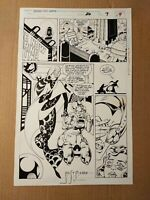 Original comic art interior page Spider-Man 2099 #26 page 9 by Joe St. Pierre