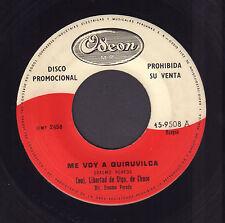 "CONJUNTO LIBERTAD SANTIAGO DE CHUCO –  Me Voy A Quiruvilca (SINGLE 7"" PERU)"
