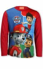 T-shirts, débardeurs et chemises rouge à manches courtes en polyester pour garçon de 2 à 16 ans