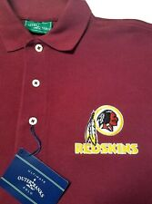 Washington Redskins Embroidered Long Sleeve Mens Polo