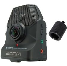 Zoom Q2n Audio Video Recorder + Stativ Adapter