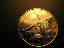 Canada 1999 Millennium August 25 Cent Mint Grade Coin
