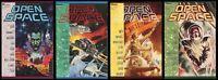 Open Space Trade paperback TPB Set 1-2-3-4 Lot Marvel Science Fiction Anthology