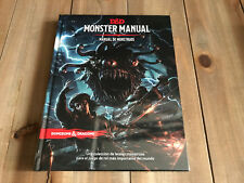 Donjons & Dragons 5 - Manuel Monstruos - jeu rol - EDGE - RPG D&D