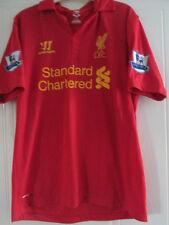 Liverpool 2012-2013 Home Football Shirt Tamaño Mediano Adulto Jersey Top / 38014