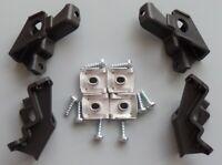 Headlight Repair Kit Bracket Mount Holder Clips Left&Right For VW Polo 2009-2017