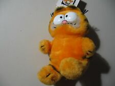 """6"""" plush Garfield doll, from 1981, good condition"""