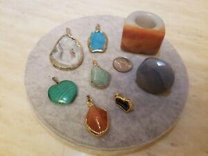 Artisan Gemstone Pendants And Rings