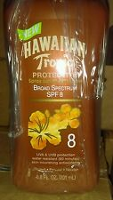 12 X Hawaiian Tropic Protective Spray Lotion Sunscreen SPF 8 (6.8 fl oz EACH)
