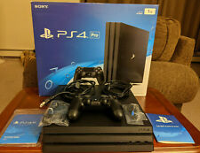 Gently Used Sony PlayStation 4 Pro 1TB Console - Black