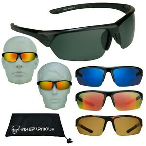 Polarized Mirrored Sunglasses Golf Fishing Running Cycling Driving Glasses