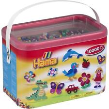 Hama 10 20267de 10000 Beads and Pegboards in Bucket