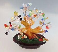Feng Shui Arbre porte-bonheur 15 cm Arbre de jade bonsaï Arbre pfennig