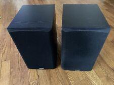 Pair Left & Right PARADIGM Titan V3 Black Surround Sound Speakers Home Theater