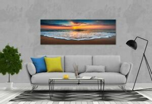 Home Décor Canvas Print Panorama of beautiful Nature landscape wall art no frame