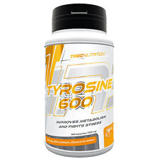Trec Nutrition Tyrosine 600 Muscle Mas Body Building 60 Capsules