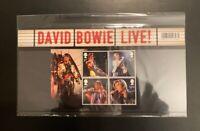 DAVID BOWIE LIVE! UK ROYAL MAIL 2017 PRESENTATION PACK