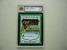 1973/74 TOPPS NHL HOCKEY CARD #120 PHIL ESPOSITO KSA 9 MINT SHARP+ 73/74 TOPPS