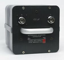 Gr Genrad General Radio 1404 B 100pf Standard Reference Capacitor 1404b