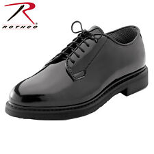 Rothco High Gloss  Fire Dept EMS Police Dress Uniform Oxford Leather Shoes