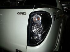 Mitsubishi ML MN Triton UTE TAIL LIGHT REAR LAMP LED BLACK HOUSING CLEAR LEN 06