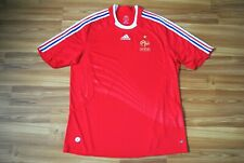 SIZE XL FRANCE NATIONAL TEAM 2008/2009 AWAY FOOTBALL SHIRT JERSEY SOCCER ADIDAS