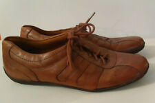 WOMENS NATRALIZER LEATHER BROWN LACE UP SHOES SIZE 8.5 WIDE