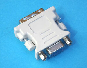 New DVI To VGA Male to Female M/F Adapter Converter Convertor Connector AU Stock