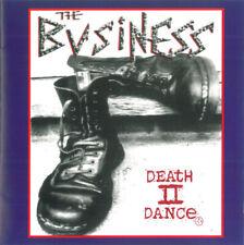 THE BUSINESS Death II Dance CD English Skinhead Oi Street punk rock Micky Fitz
