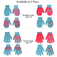 Hasbro Little Girls My Little Pony 4 Pair Acrylic Gloves or Mittens Set, Age 2-7