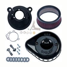 S&S Sigilo Filtro de Aire Mini T Negro Para Harley-Davidson Sportster 91-03 -