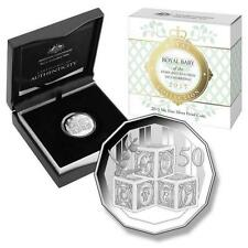 2015 Royal Baby Birth of The Princess Charlotte Australian 50c Silver Proof Coin