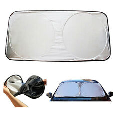 1x Car Shield Cover Foldable Visor Block Front Rear Windshield Window Sun Shade