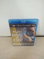 John Ankerberg Are You A Disciple of Jesus DVD Blu-ray Bundle New Free Shipping