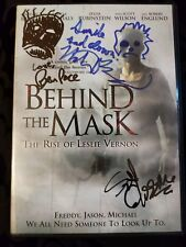 Behind The Mask: The Rise Of Leslie Vernon SIGNED DVD Director & Actors