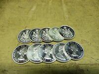Anlegerposten , Kanada Silber , 10 x 50 Cents Wappen , 116,7 g , Investorenpaket